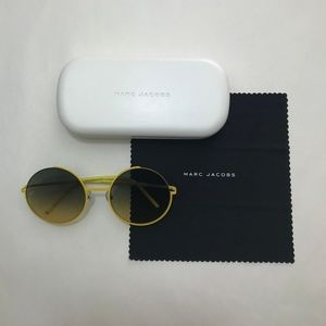 Marc Jacobs yellow lightweight sunglasses